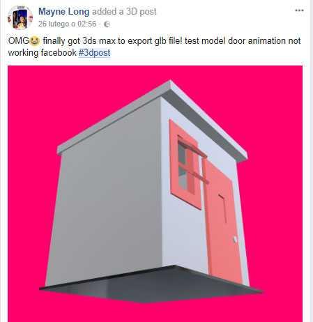 Jak zrobić post w 3D na facebook? - Strony internetowe