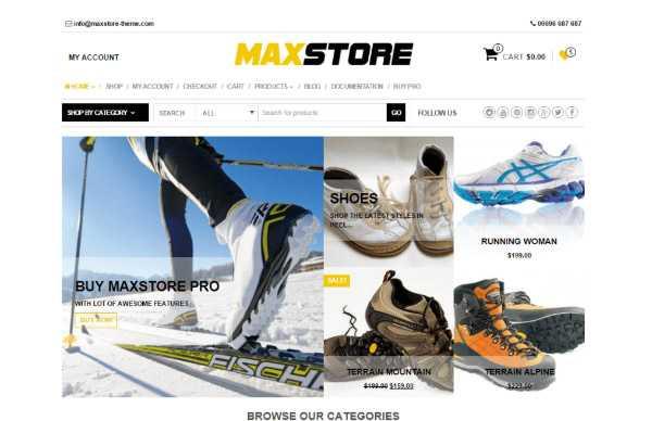 maxstore wp theme