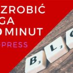 blog na wordpress za darmo