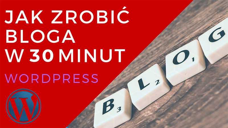 blog na wordpress za darmo