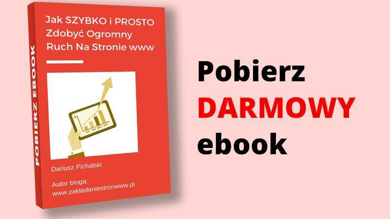 ebook dariusz pichalski jak zdobyć ruch na stronie www