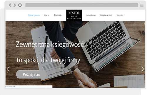 projekt wordpress nestor
