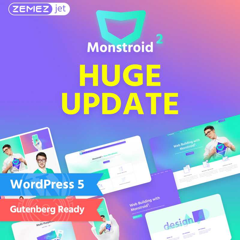 monstroid wordpress