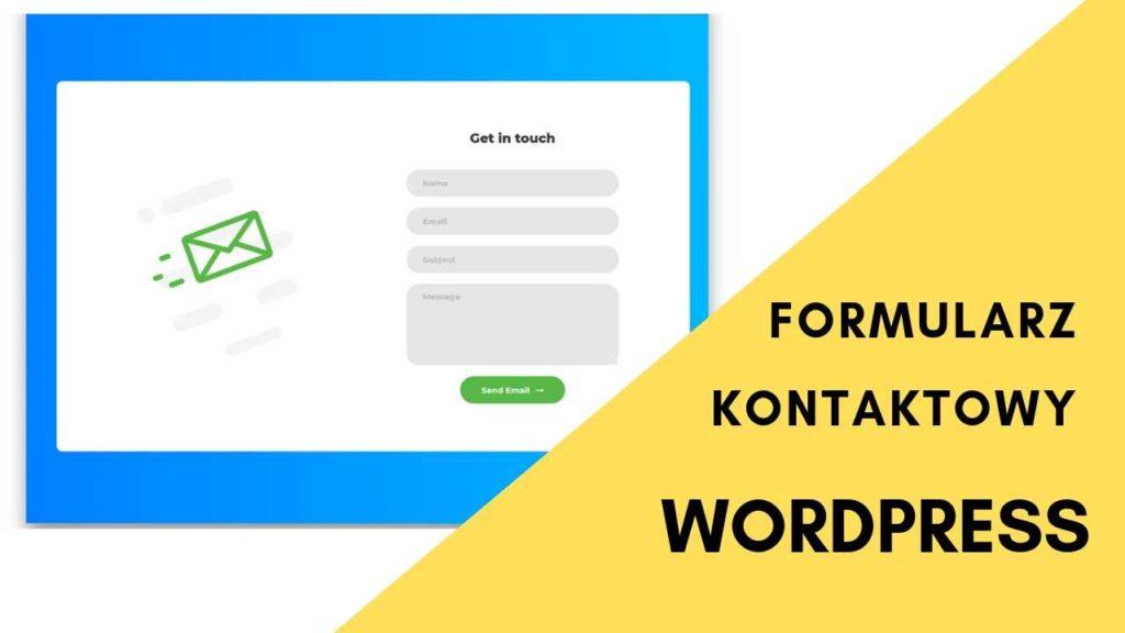 formularz kontaktowy na stronę wordpress