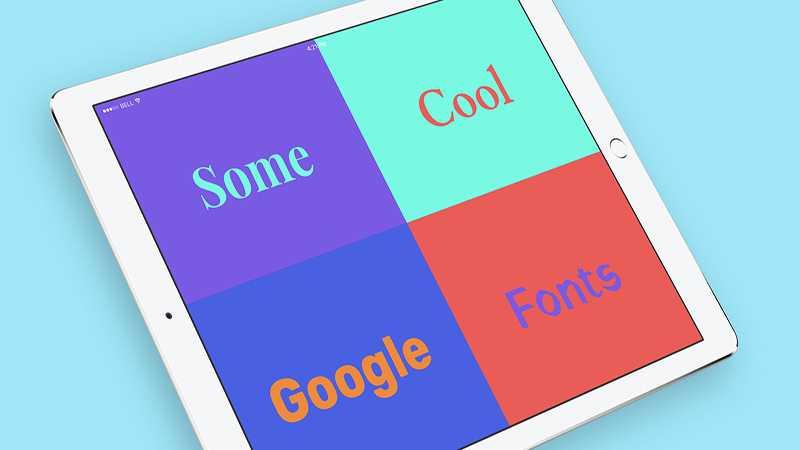 najlepsze darmowe czcionki google na strone