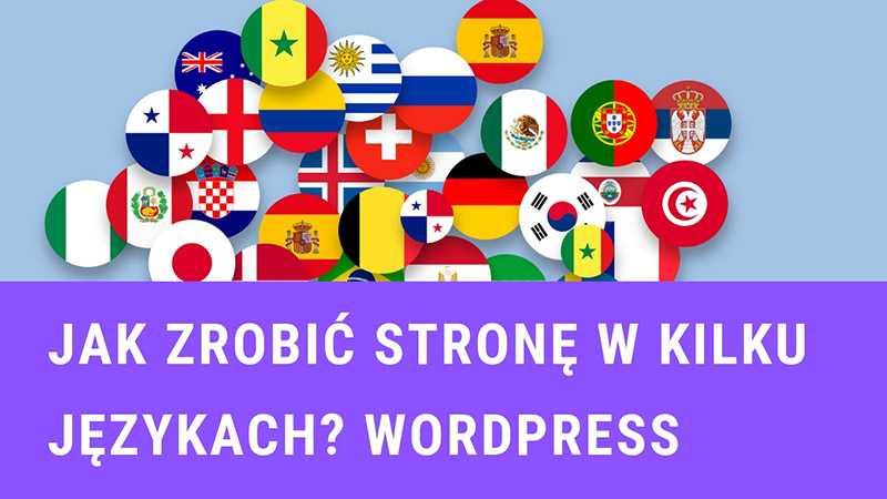 strona wielojęzyczna na wordpress dzięki wtyczce polylang