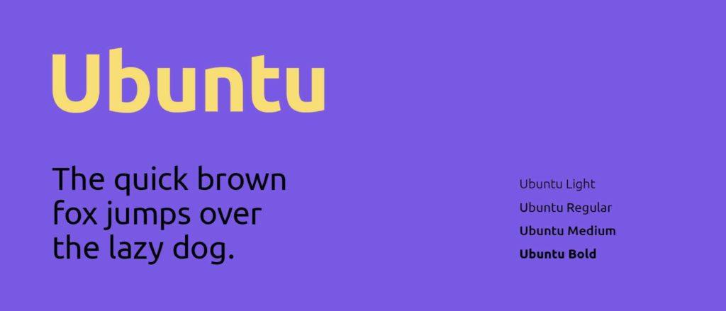 ubuntu czcionka