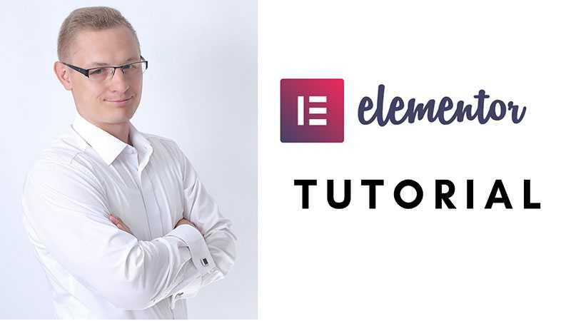 wordpress elementor tutorial
