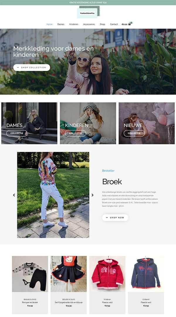 tworzenie stron internetowych na wordpress fashion